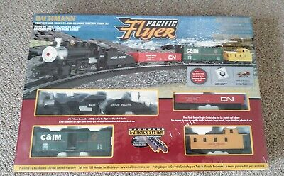 $ CDN90.75 • Buy Bachman Pacific Flyer HO Electric Train Set (New Old Stock) • SEALED
