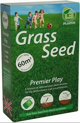 £11.49 • Buy Speedy Grass Seed Premier Play 1kg,Fast Acting Quick Results Covers Upto 60m2