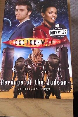 Doctor Who: Revenge Of The Judoon By Terrance Dicks (Paperback, 2008) • 0.99£
