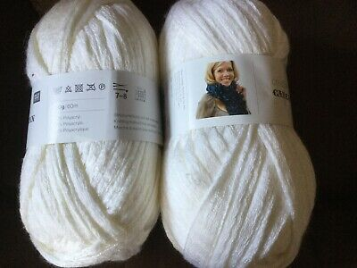 Rico Creative Can Can Yarn Wool 200g X 2 Off White (new) • 3.80£