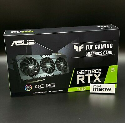 $ CDN1007.08 • Buy 🔥 ASUS TUF GAMING GeForce RTX 3060 OC Graphics Card 🔥 Ships NOW 🚛💨NON-LHR🌟
