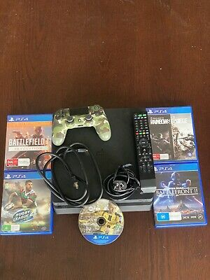 AU300 • Buy PS4 Slim 1TB/1000GB Plus 5 Games And PS4 Dualshock Controller.