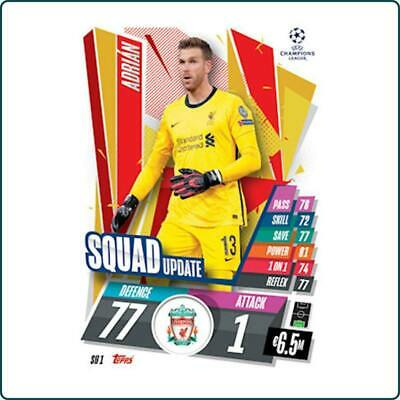 £1 • Buy Topps Match Attax 20/21 Extra - Squad Update