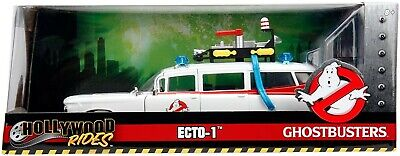Jada JA99731 Hollywood Rides 1:24 Ghostbusters ECTO-1 NEW IN BOX • 39.99£
