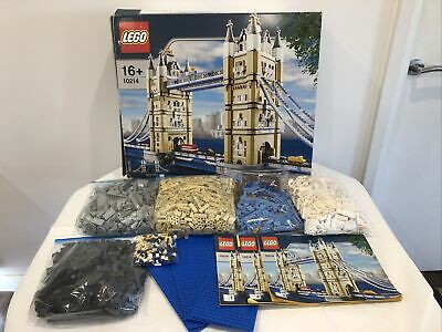 Lego Creator Expert Tower Bridge 10214 Complete With Box And Instructions • 229.99£