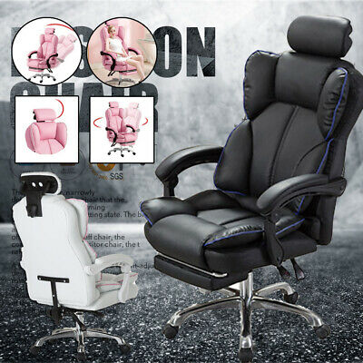 AU146.88 • Buy Ergonomic Gaming Computer Chair Swivel Office Chair Recliner Racing Desk Chairs