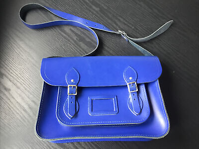 The Cambridge Satchel Company Bag In Blue Leather • 10.50£