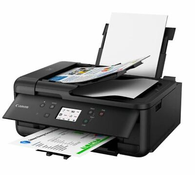AU159.99 • Buy Canon PIXMA HOME OFFICE TR8660 Colour Inkjet All-In-One Printer Copy Scan Fax