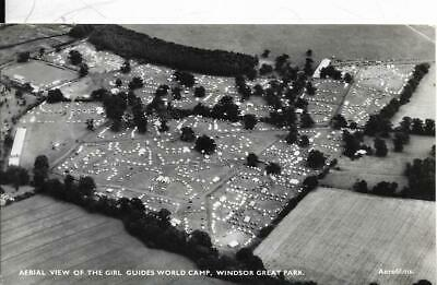 Windsor Great Park - View Of Girl Guides World Camp- Old Postcard  • 1£