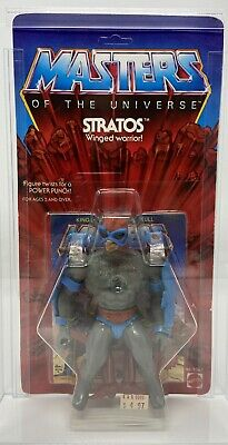 $5500 • Buy 1982 Stratos 8 Back MOTU Master Universe CLEAR BUBBLE Heman Afa Skeletor Cgc G1