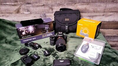 AU909.27 • Buy Sony Alpha A7S- Full Frame Mirrorless Camera Bundle (Lens+Bag+grip And More!)