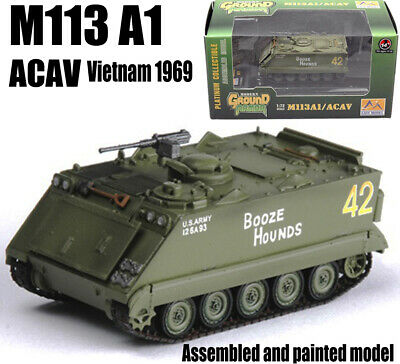 $25.99 • Buy M113 Armored Personnel Carrier Vietnam 1969 Tank 1/72th Finished Easy Model Hot