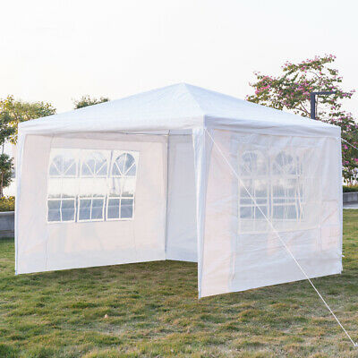 Waterproof Wedding Tent Outdoor Camp Garden Gazebo Marquee Canopy Awning Party • 55.59£