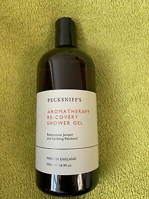 £12.99 • Buy New Pecksniffs Re-Covery Aromatherapy Shower Gel 500ml