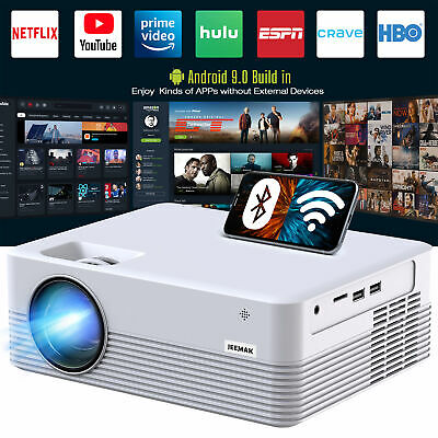 AU177.07 • Buy Android Portable Smart Projector Theater Cinema HD 1080P Supported Outdoor Movie