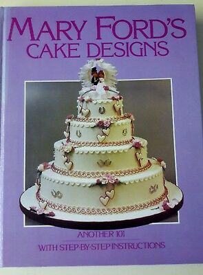 Cake Decorating Book.   Mary Ford`s Cake Designs • 3.99£