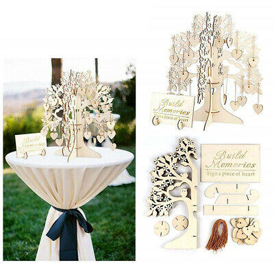 £9.35 • Buy Sign Card Party Sign-in Card Signature Wishing Tree Love Pendant Sign-in Card Z