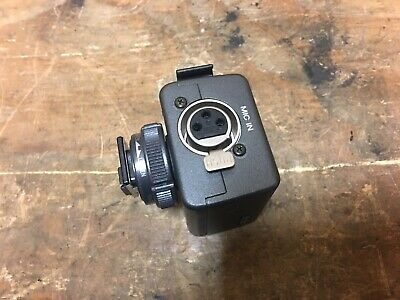 £40 • Buy Sony Professional Microphone Adapter XLR 48v Camcorder Hot Shoe Adapter