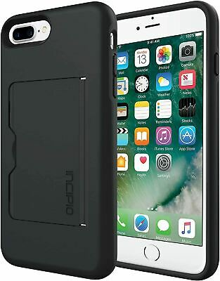 AU18.53 • Buy Incipio Stowaway Case For IPhone 8 / 7 / 6s / 6 Plus - Black With KickStand