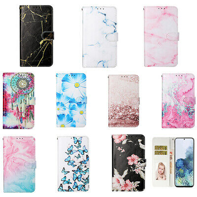 £4.69 • Buy Patterned PU Leather Flip Wallet Phone Case Cover For Huawei P9 P10 P30 P40 Lite