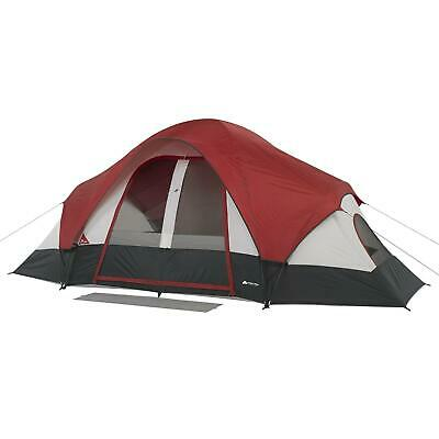 AU169.29 • Buy Camping Dome Tent With Rear Window 8 Person