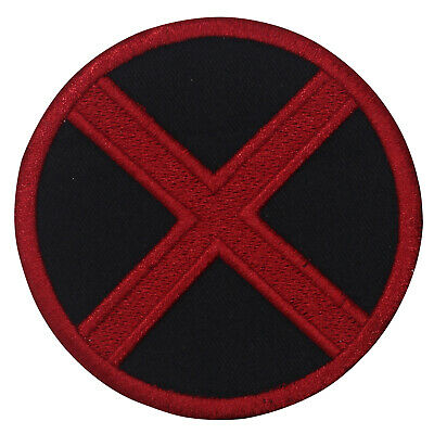 £1.99 • Buy X Men Superhero Movie Patch Iron On Patch Sew On Badge Patch Embroidery Patch