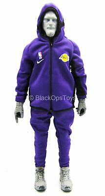 $68.25 • Buy 1/6 Scale Toy Los Angeles Lakers - LeBron James - Lakers Warm Up Suit