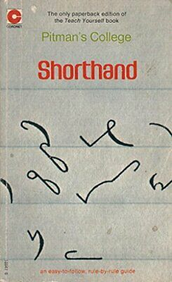 £13.99 • Buy Shorthand By Pitmans College Book The Cheap Fast Free Post