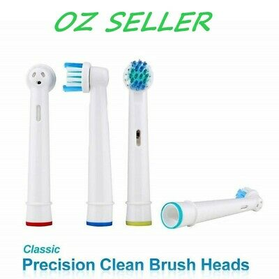 AU4.49 • Buy Electric Toothbrush Heads Oral B Compatible Replacement Brush X4 Precision Clean