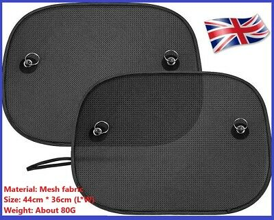 £5.99 • Buy 2X Car Window Sun Shade Cover Blind Mesh Max UV Protection For  Baby Side Window
