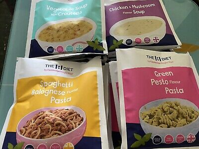 £40 • Buy The 1:1 Diet CWP 16 X Assorted Savoury Meals And Soups