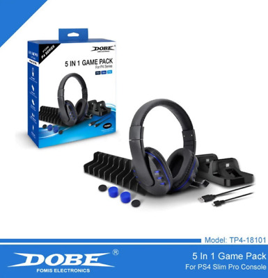 AU38.60 • Buy DOBE PS4 5 In 1 Accessories Sets