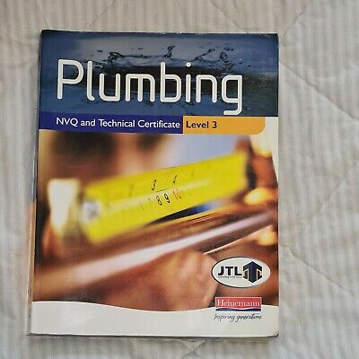 £10.50 • Buy Plumbing NVQ And Technical Certificate Level 3 Student Book By JTL Paperback