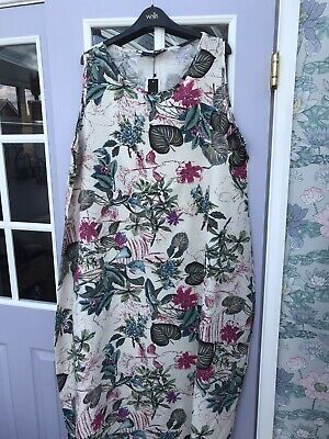 AU16.08 • Buy New Summer/Holiday  Size 20       Cotton Floral  Maxi   Dress