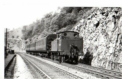£2.59 • Buy Rail Photo LMS MR 044t 58083 Rusher Cutting Derybshire Millers Dale Buxton