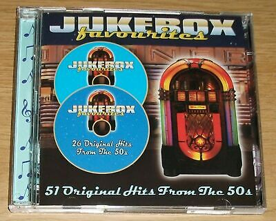 £2.49 • Buy Various - Jukebox Favourites 51 Original Hits From The 1950's - 2 CD SET - NEW