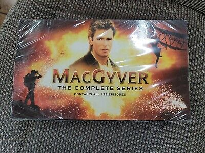 $129.99 • Buy NEW SEALED MacGyver The Complete Series 2007 DVD 39-Disc Box Set 139 Episodes