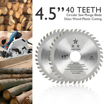 £6.69 • Buy 2Pcs Circular Saw Blades 115mm 40T For Cutting Wood Blade Disc Tools
