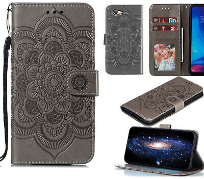 AU10.95 • Buy Oppo A59 F1s Wallet Case Embossed Pu Leather Mandala