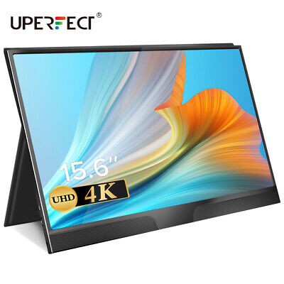 AU290.99 • Buy 15.6 Inch 4K 3840 X 2160 Video Gaming Monitor IPS Screen Display For Smart Phone