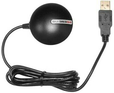 £12.49 • Buy BU-353S4 USB 48 Ch. External GPS Receiver With Magnetic Base Linux Win 7 Mac