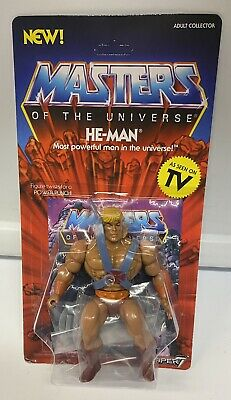 $20 • Buy Masters Of The Universe He-Man Motu Figure MOC Super 7 Vintage Series Heman
