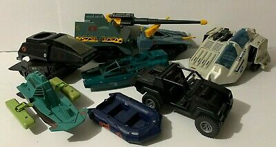 $ CDN70 • Buy VINTAGE GI JOE COBRA VEHICLE RESTORATION LOT ! HASBRO 1980s