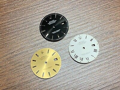 $ CDN120.93 • Buy 3 Vintage ROLEX Datejust Dial Parts For 16014 16234 16013 16233 16000 16018