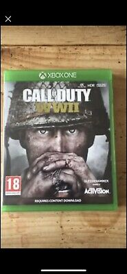Xbox One Call Of Duty WWII COD Free Delivery ! • 9.50£