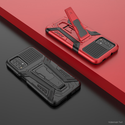 AU6.04 • Buy For Xiaomi Redmi 9T Shockproof Rugged Armor Stand Case Hybrid Matte Rubber Cover