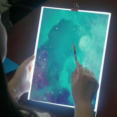 £7.99 • Buy A5/A4 LED Light Pad For Diamond Painting USB Powered Light Board Kit With Stand!
