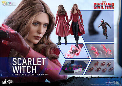 $ CDN1146.31 • Buy Hot Toys – Mms370 – Captain America: Civil War – 1/6th Scale Scarlet Witch  Toy