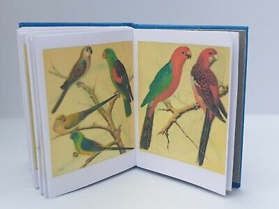 £5 • Buy Dolls House 1:12 Scale Book Canaries And Caged Birds Hand Crafted By Ken Blythe