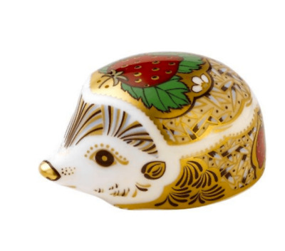 £69.99 • Buy Royal Crown Derby Strawberry Hedgehog Paperweight Brand New 1st Quality